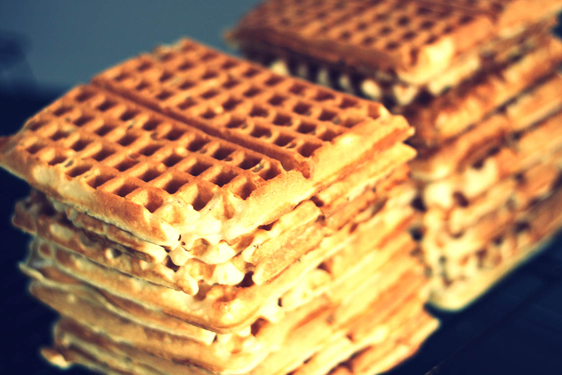 ... you know this but i have the recipe for the best waffles ever my kids