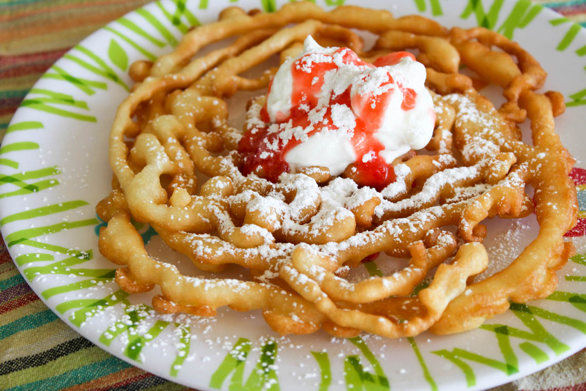 Funnel Cake Recipe We go is the funnel cakes.