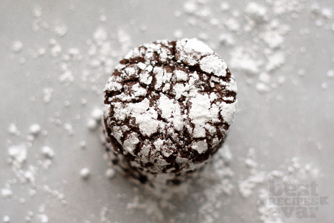 how to cook chocolate crinkles